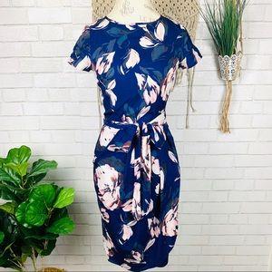 Yumi Kim blue floral dress size small